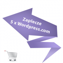 Zaplecze 5 x Wordpress.com